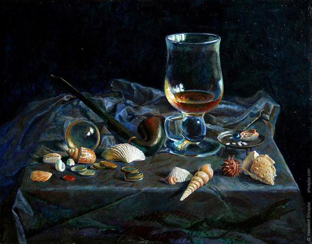 Oil Painting of Philip Gerrard (12)