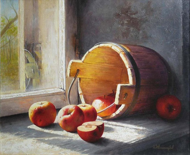 Oil Painting of Philip Gerrard (13)