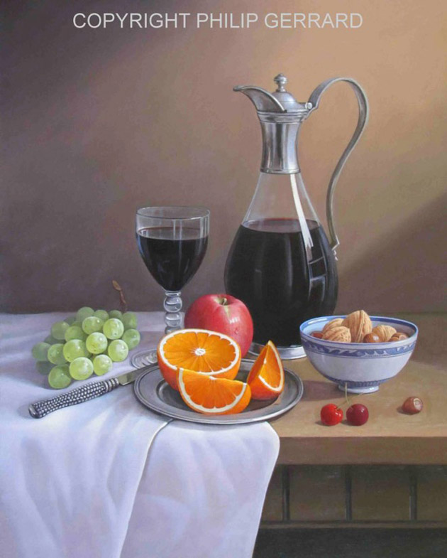 Oil Painting of Philip Gerrard (16)