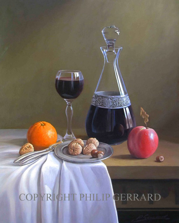 Oil Painting of Philip Gerrard (18)