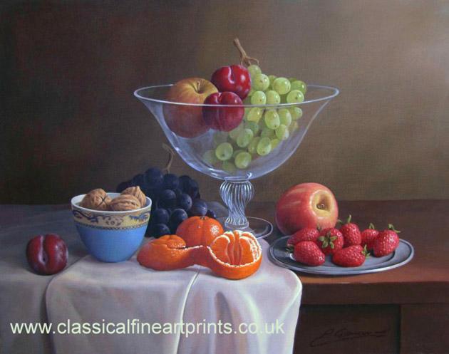 Oil Painting of Philip Gerrard (2)