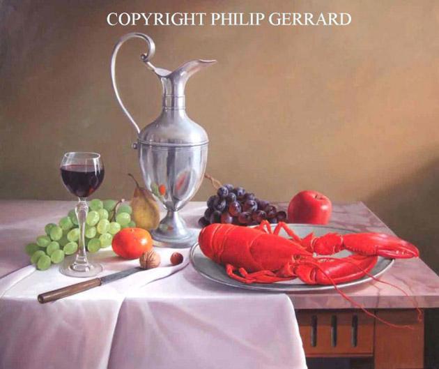 Oil Painting of Philip Gerrard (20)