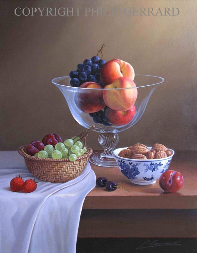 Oil Painting of Philip Gerrard (21)
