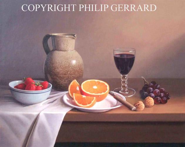 Oil Painting of Philip Gerrard (3)