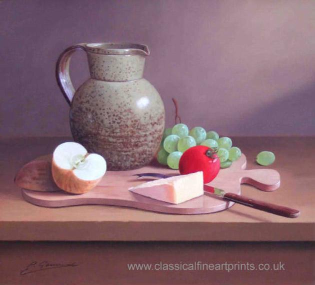 Oil Painting of Philip Gerrard (4)