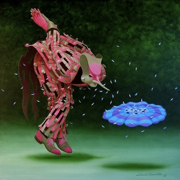 Romantic Dreamlike Paintings by Claudio Souza Pinto (14)