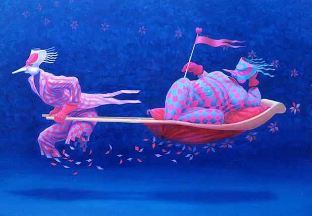 Romantic Dreamlike Paintings by Claudio Souza Pinto (25)
