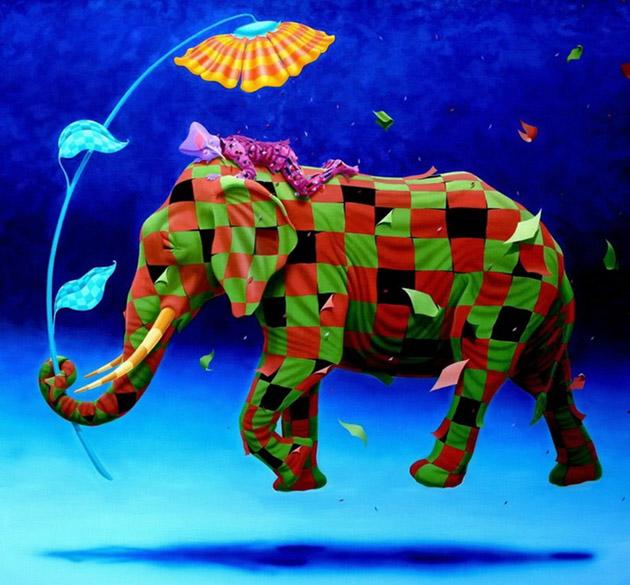 Romantic Dreamlike Paintings by Claudio Souza Pinto (36)
