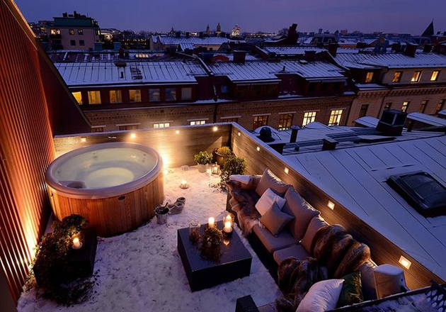 rooftop-hot-tub-in-Gothenburg-Sweden