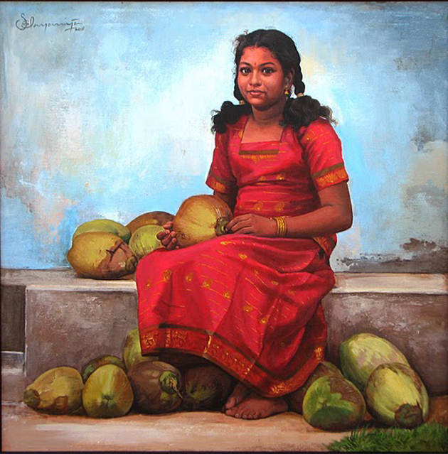 Amazing Oil Painting by South Indian Legend Ilaiyaraaja (10)