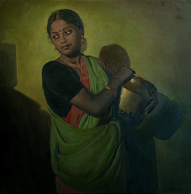 Amazing Oil Painting by South Indian Legend Ilaiyaraaja (19)