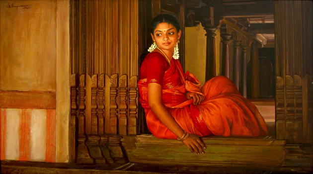 Amazing Oil Painting by South Indian Legend Ilaiyaraaja (30)