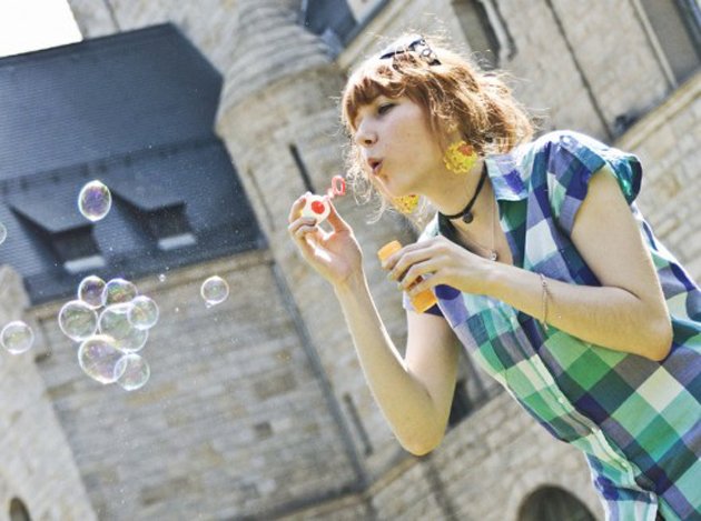 Beautiful Bubble Blowing (1)