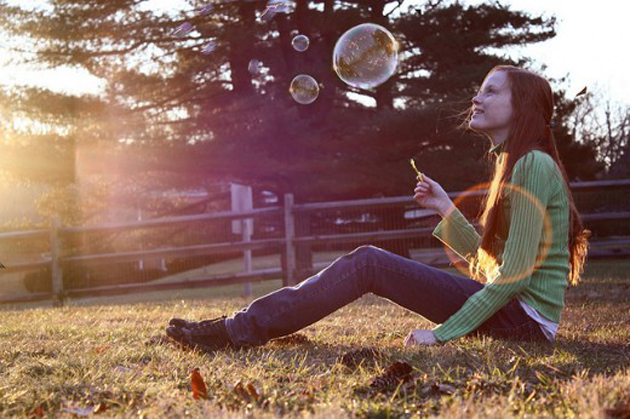 Beautiful Bubble Blowing (2)