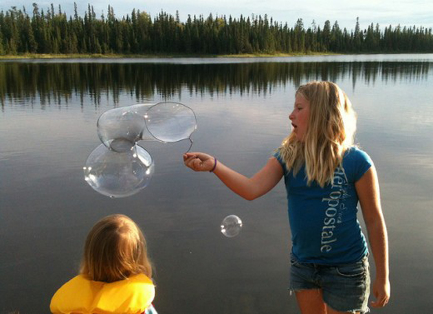 Beautiful Bubble Blowing (5)