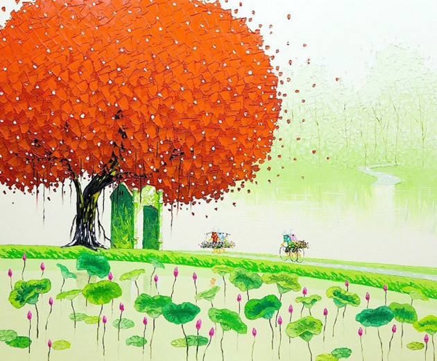 Beautiful Landscape Art by PhanThuTrang in greatinspire (7)