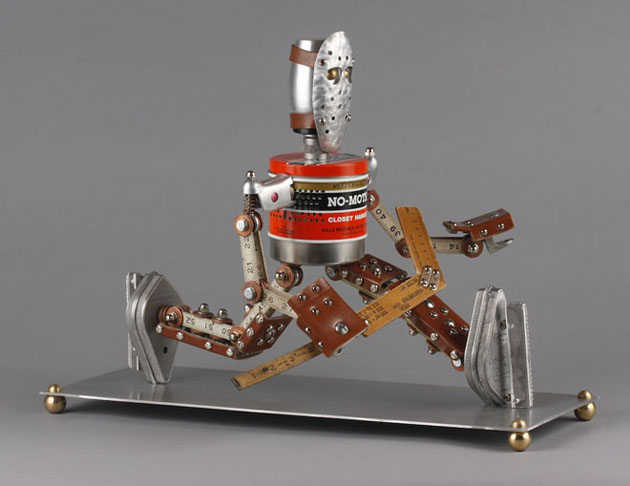 Robot Scrap Sculptures by Brain Marshall (17)