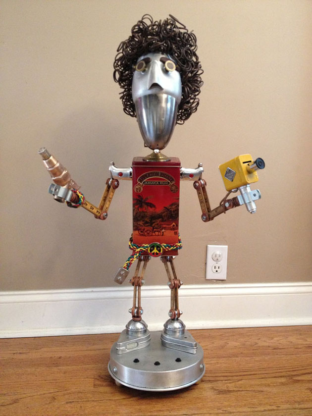 Robot Scrap Sculptures by Brain Marshall (3)
