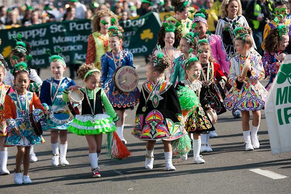 St Patricks Day Festival, Dublin, Ireland