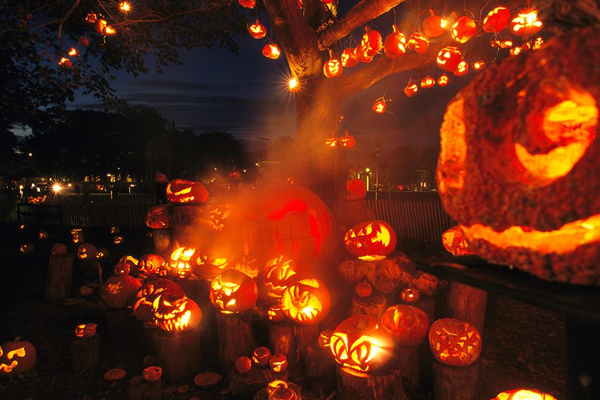 The Keene Pumpkin Festival, New Hampshire, United States.