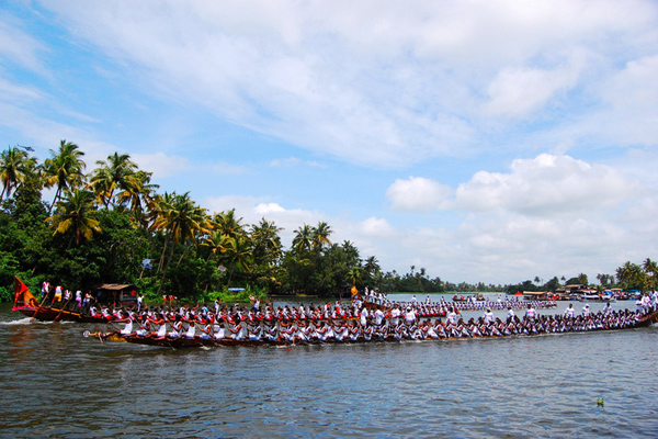 Vallam Kali (Snake Boat Race), Kerala, India