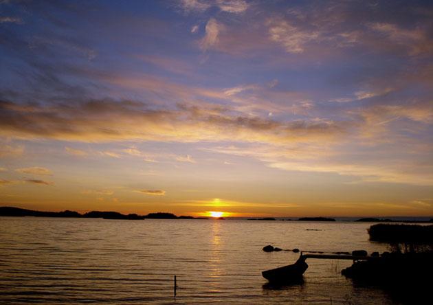sunset_vaasa_archipelago_finland