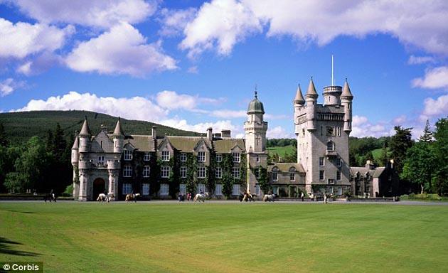Balmoral Castle. Aberdeenshire, Scotland