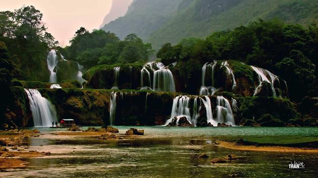 BanGioc Falls by Khoi Tran Duc
