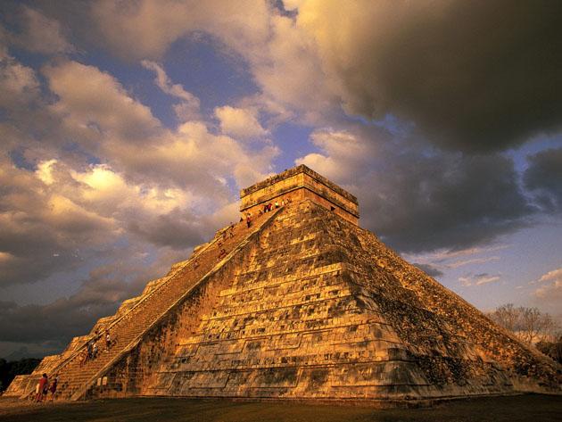 Chichen Itza. Yucatan State, Mexico