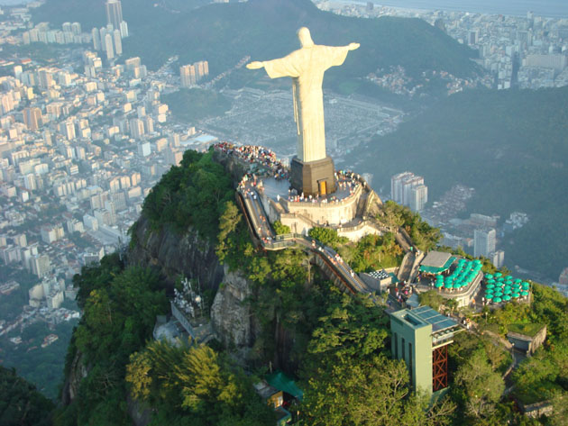 Christ on the Corcovado. Rio de Janeiro, Brazil
