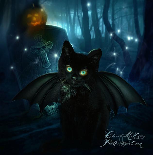 Happy Halloween by Phatpuppy Art