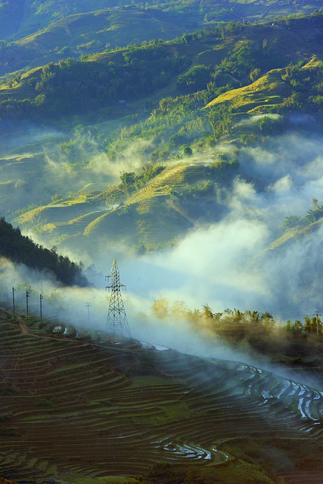 Morning in HauThao by Hai Thinh
