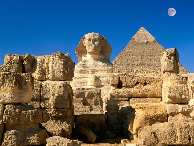 Sphinx Egypt. Giza, Egypt