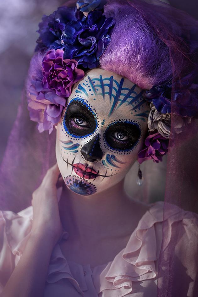 Sugar Skull by Nađa Berberović