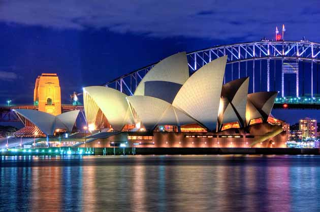 Sydney Opera House. Sydney, Australia.