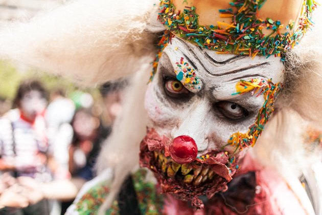 Zombie clown by Cristian Huerta