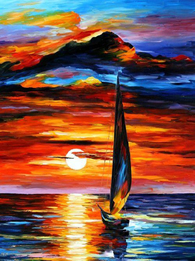 30 Beautiful painting of Sun all times (21)