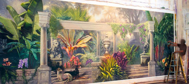 35 best and beautiful inspirited wall mural paintings