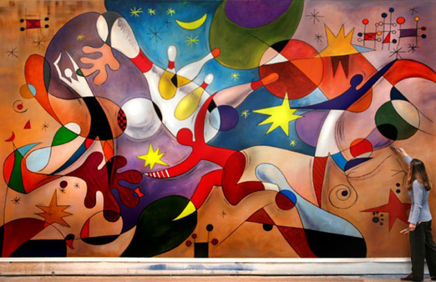 ... Best And Beautiful Inspirited Wall Mural Paintings ...