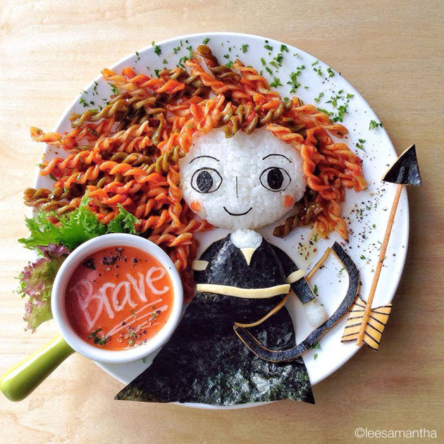 Creative mom turns meals into masterpieces (6)