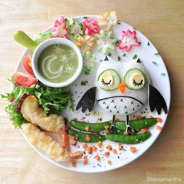 Creative mom turns meals into masterpieces (8)