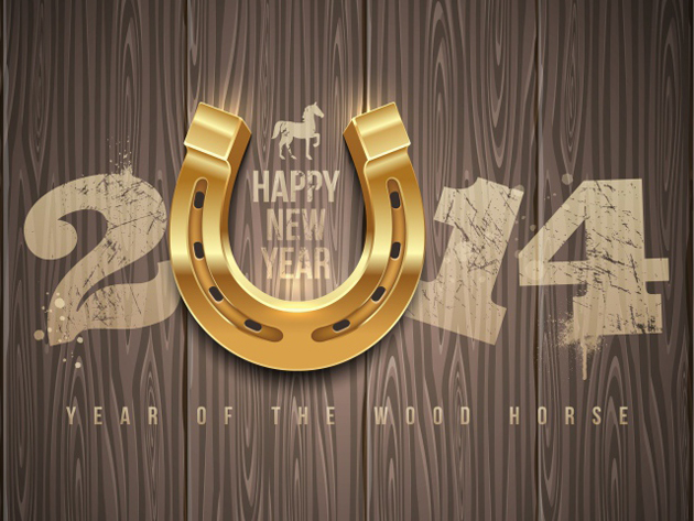 Beautiful Happy Year 2014 Wallpaper for Greetings (19)