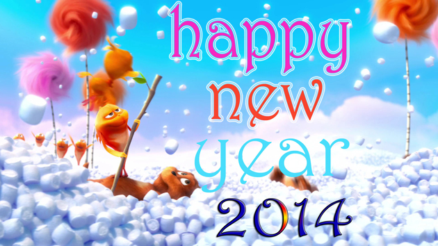 Beautiful Happy Year 2014 Wallpaper for Greetings (2)
