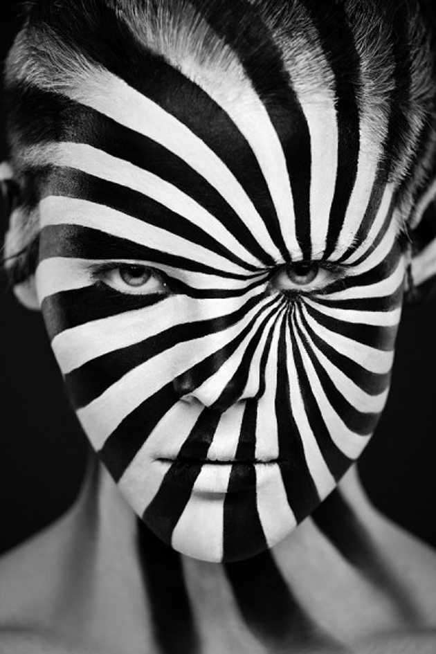 Collection of Face Art Portraits from Alexander Khokhlov (1)