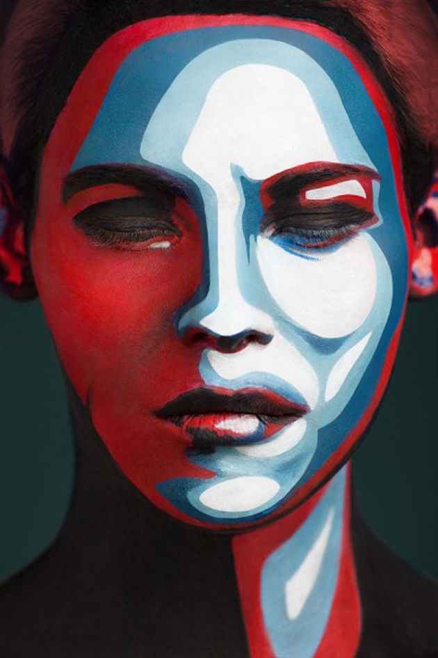Collection of Face Art Portraits from Alexander Khokhlov (11)