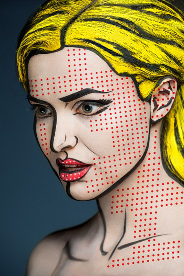 Collection of Face Art Portraits from Alexander Khokhlov (3)
