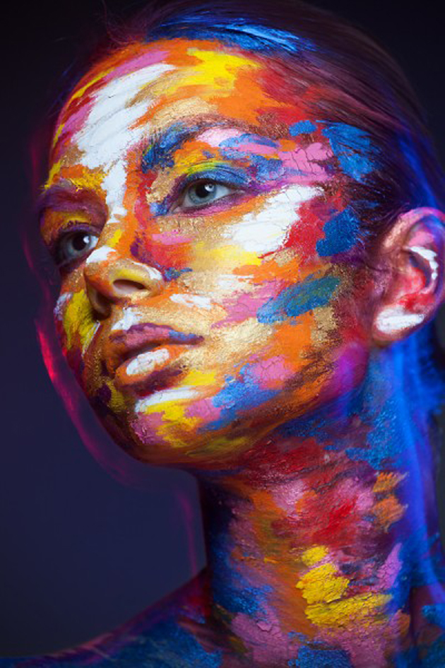 Collection of Face Art Portraits from Alexander Khokhlov (7)