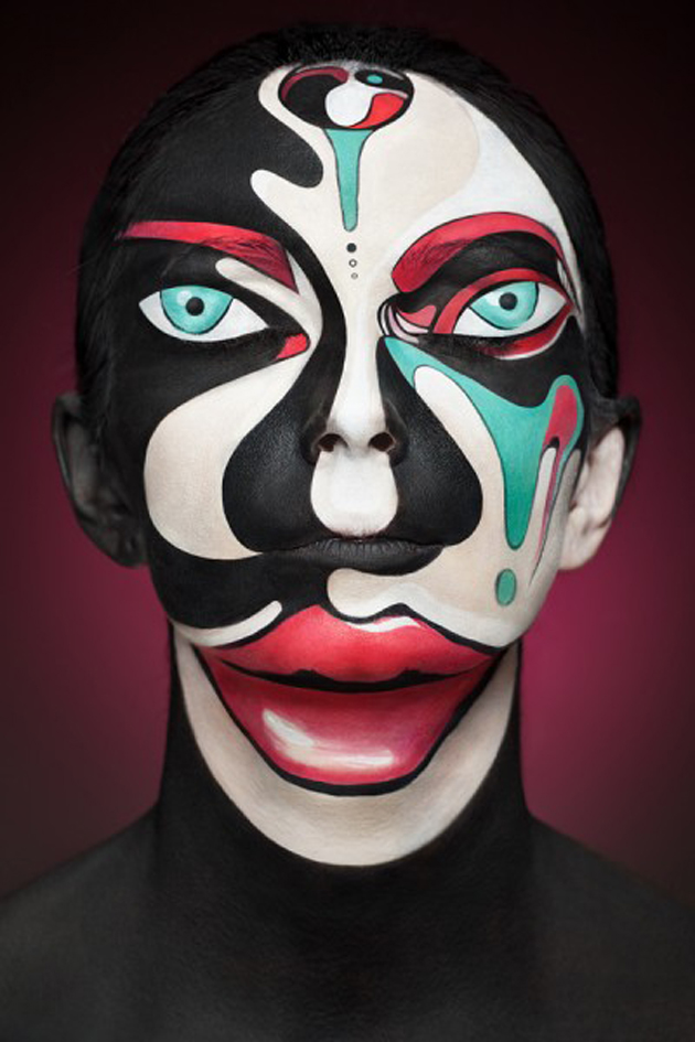 Collection of Face Art Portraits from Alexander Khokhlov (9)