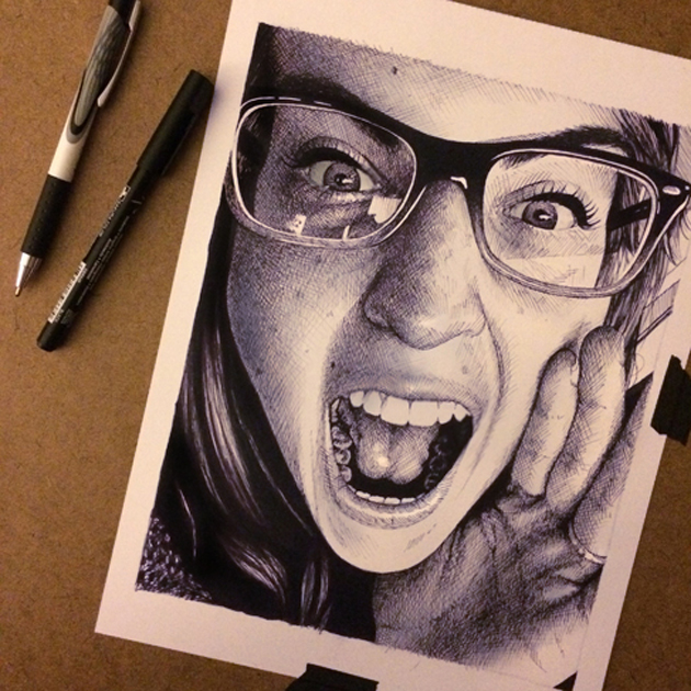 Beautiful PENCIL DRAWINGS by Morgan Davidson (14)