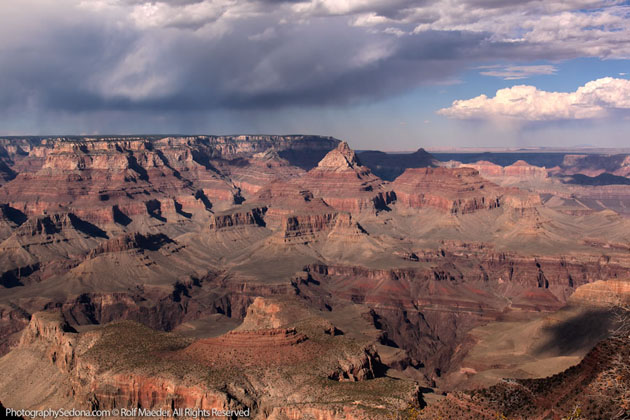 Best Photographs of Lighting Storms by Rolf Maeder-Grand-Canyon (1)